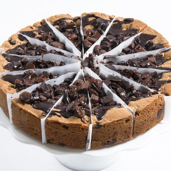 Picture of Chocolate Chip Deep Dish Cookie Cake - 10""