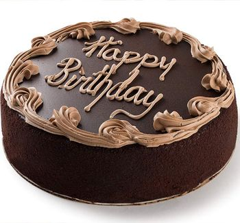 Picture of Chocolate Fudge Birthday Cake - 7""