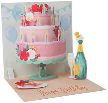 Picture of Large Layer Cake Card +$10